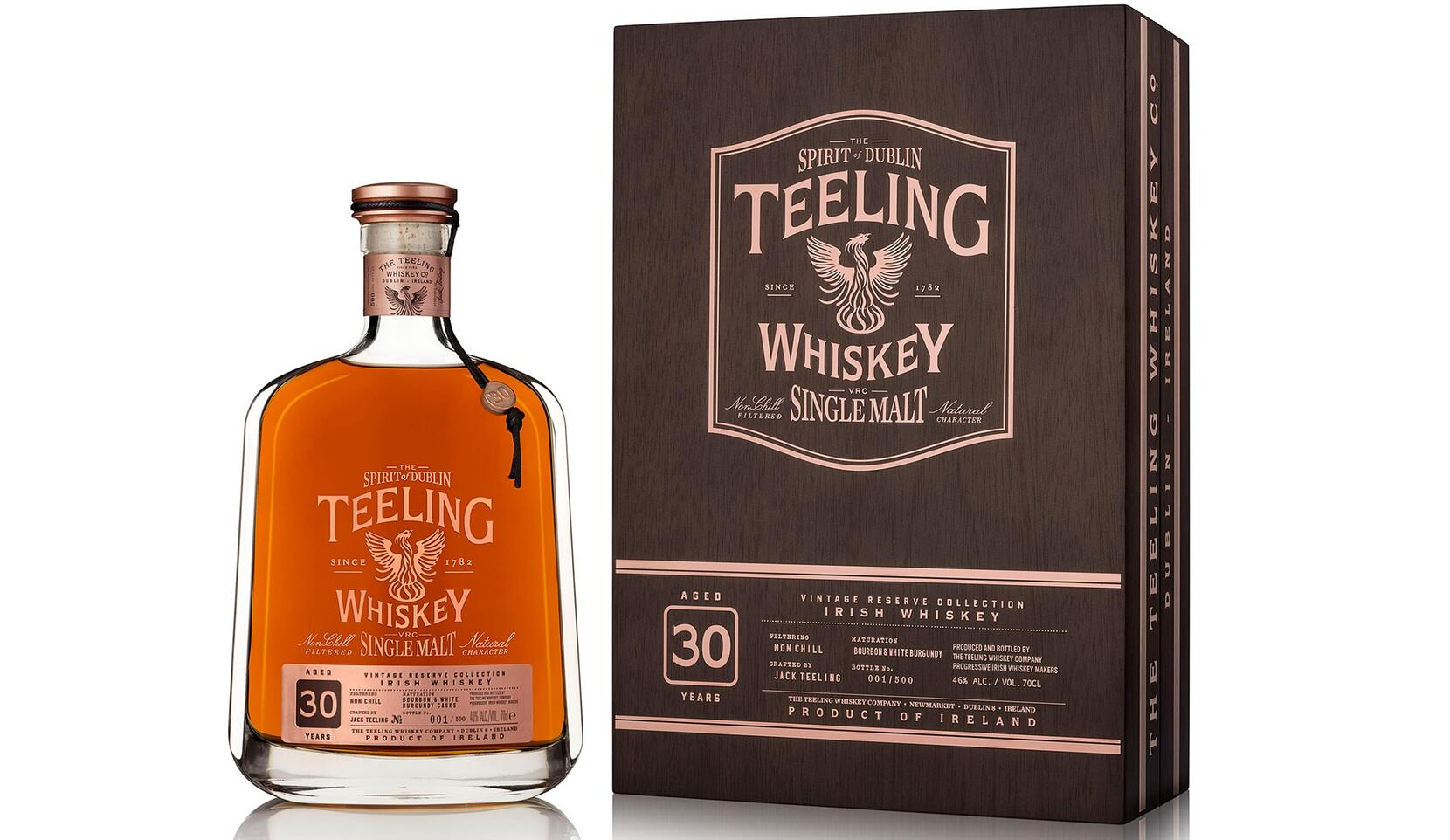 Latest limited release in award winning Teeling Vintage Reserve Collection