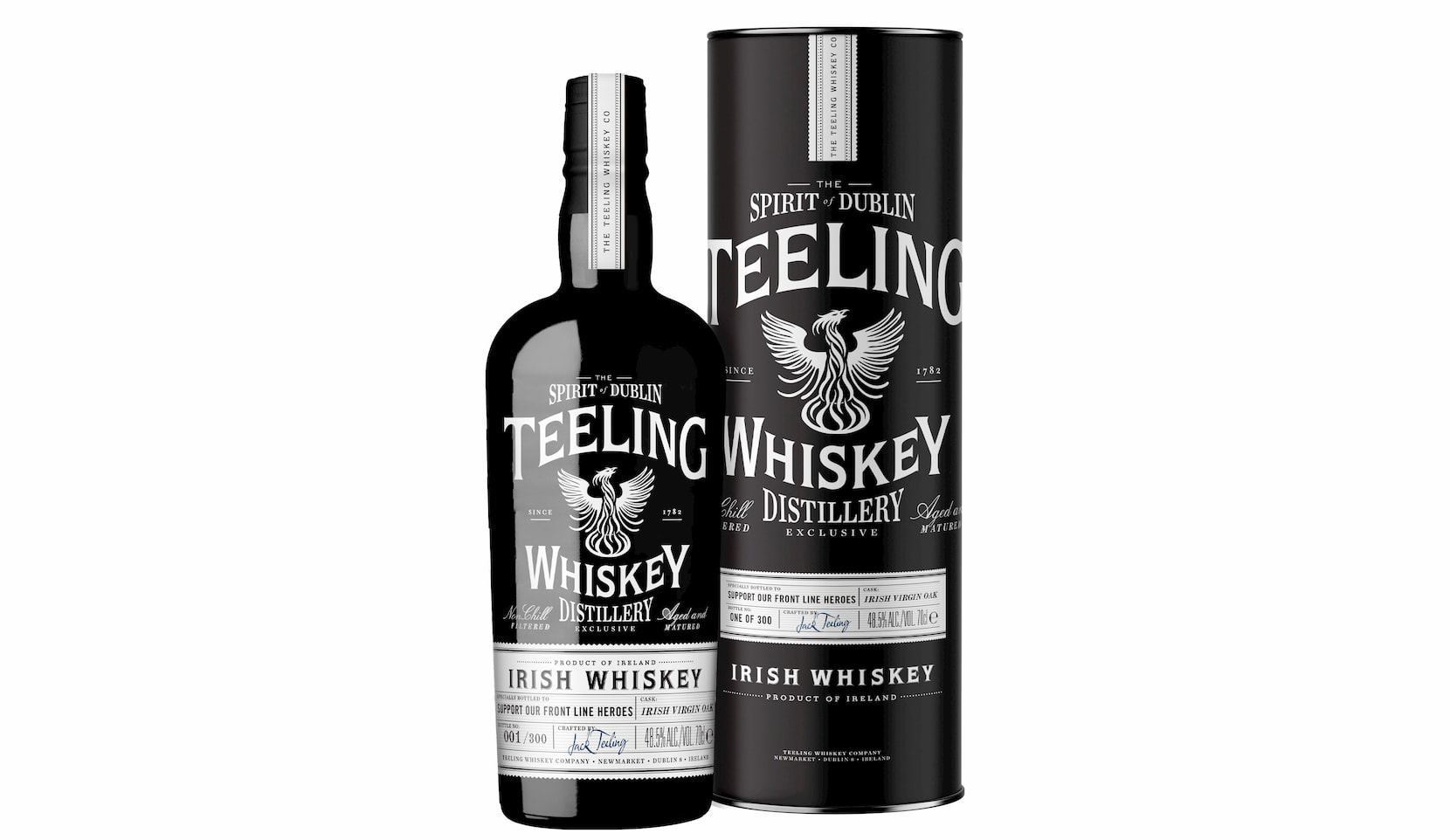 Teeling Whiskey Releases Special Charity Bottling in Support of Front Line Heroes
