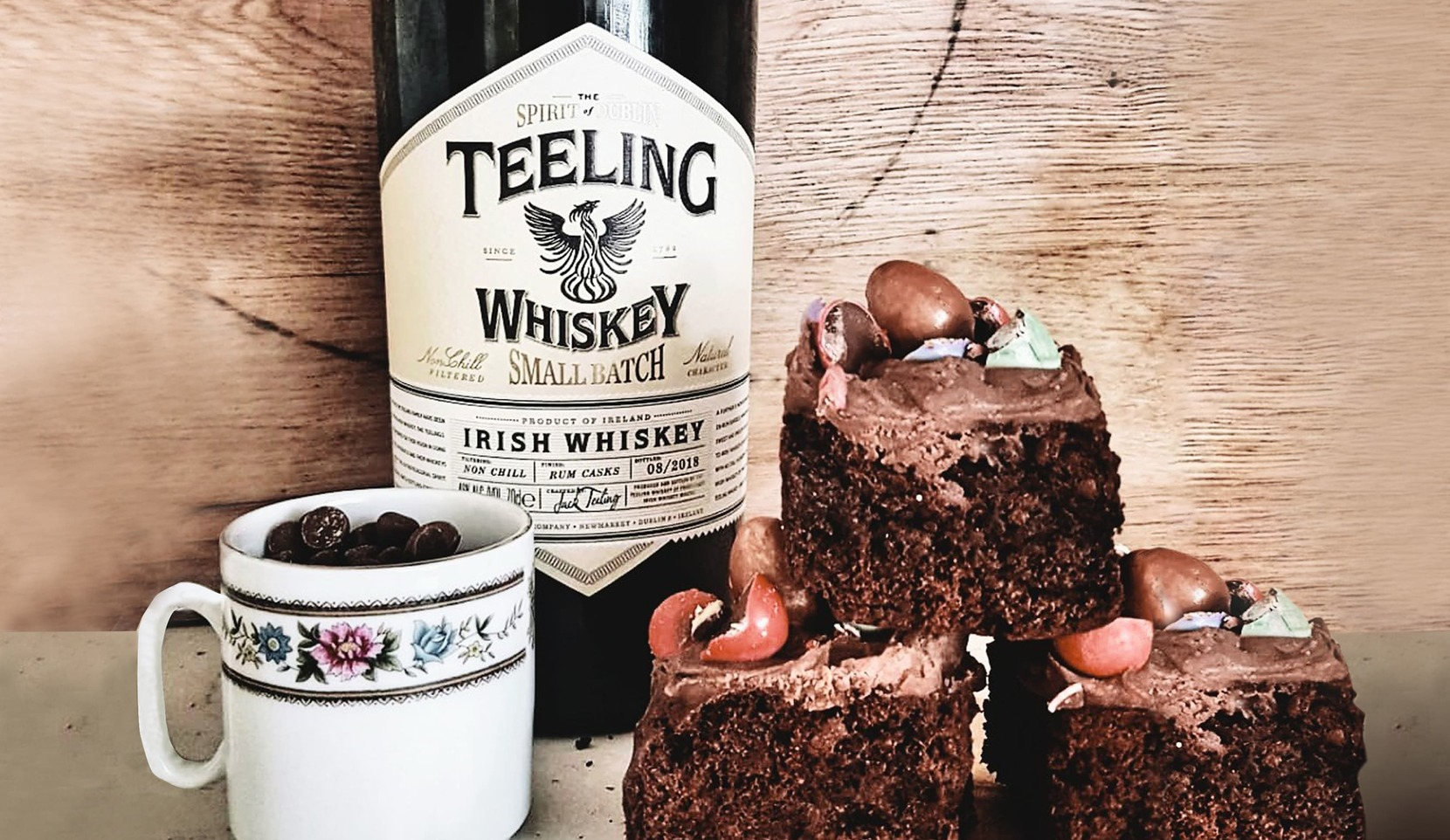 Teeling Chocolate Brownies Recipe!