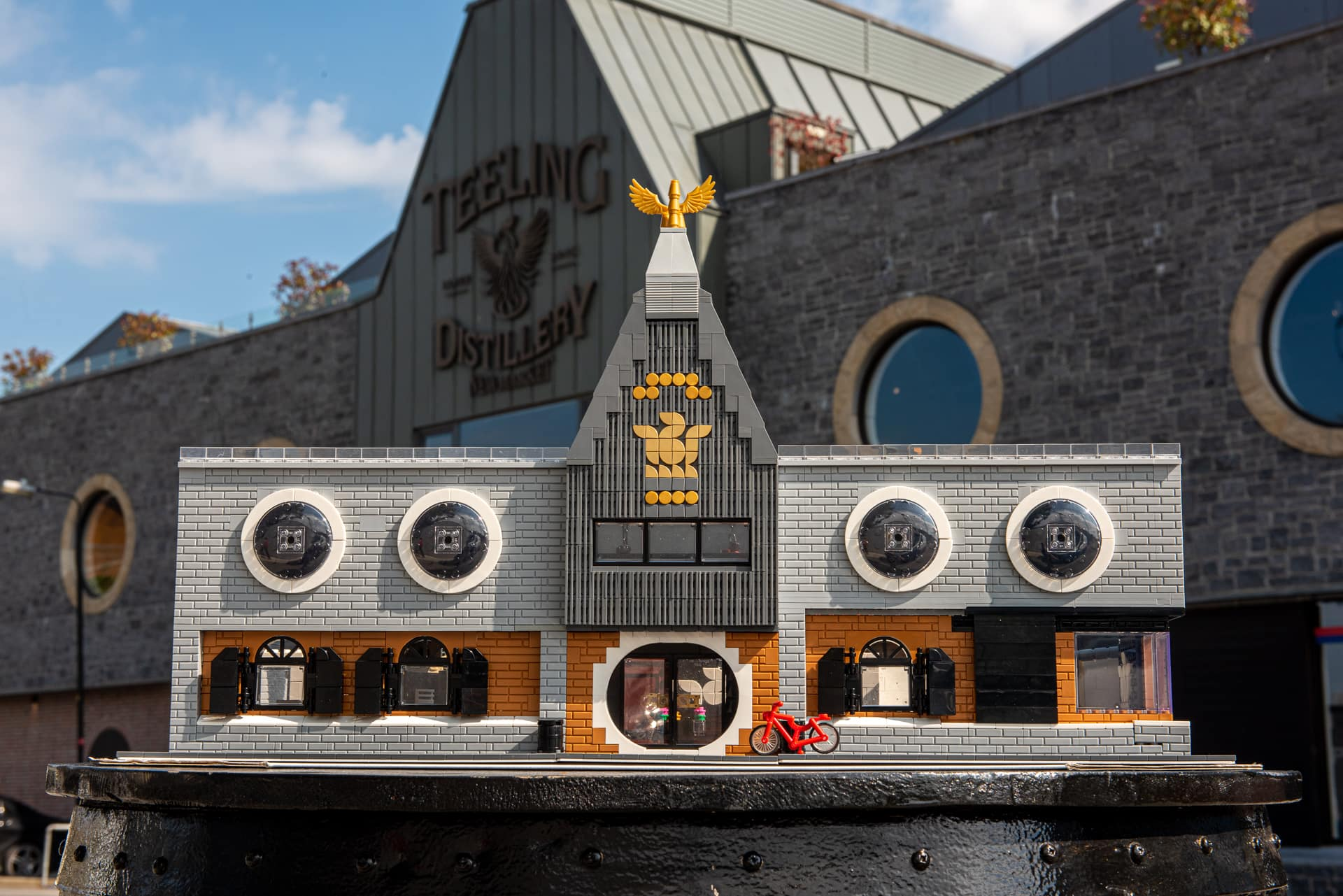 The World's First LEGO Distillery!