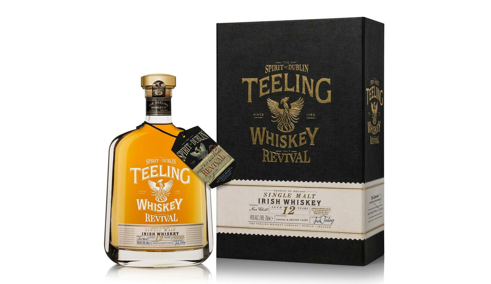 Teeling Whiskey Unveils Final Release of The Revival Single Malt