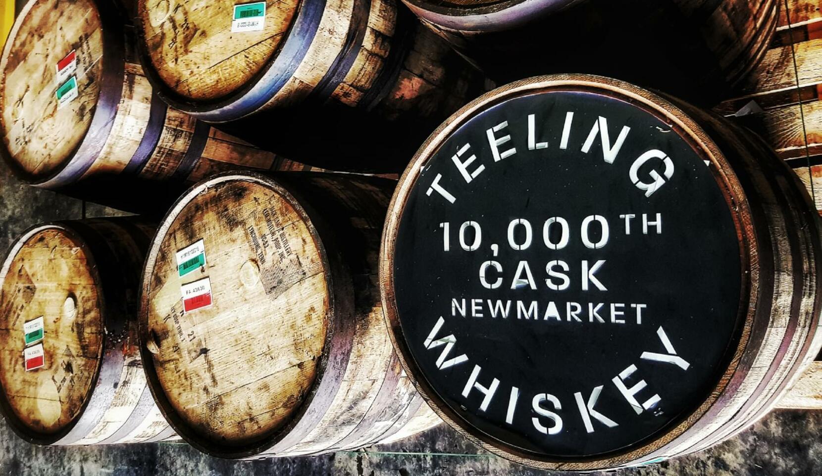 Award Winning Teeling Whiskey Fills 10,000th Cask of Dublin Distilled Whiskey