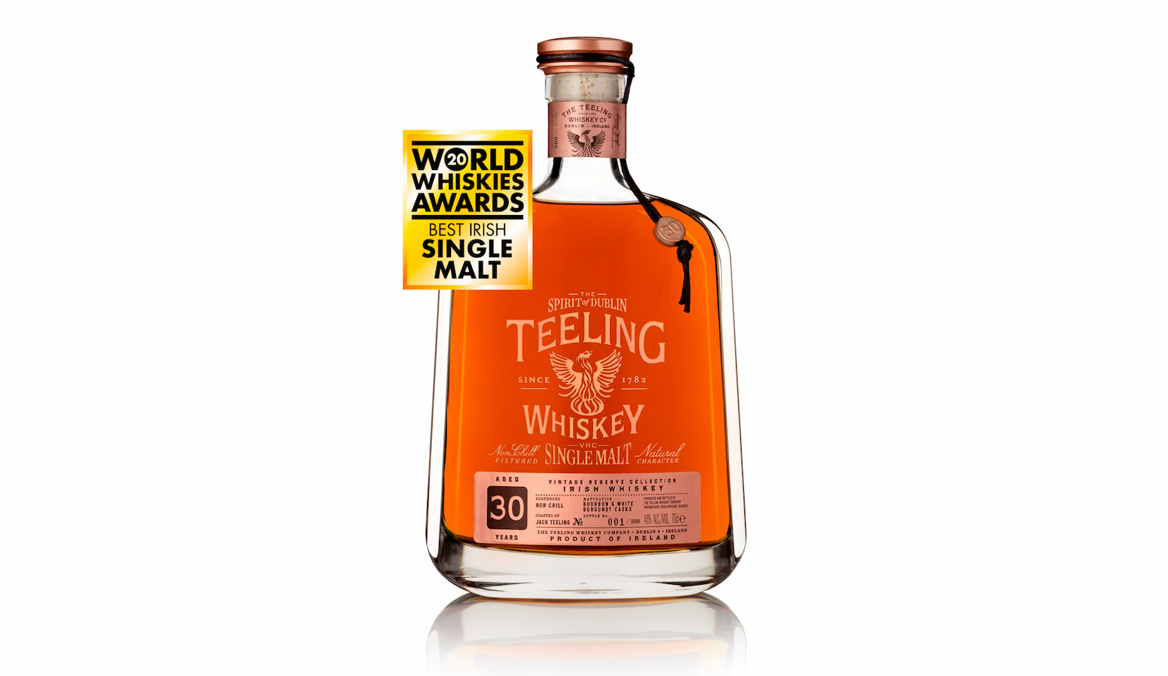 Teeling Whiskey Continues World's Best Winning Streak